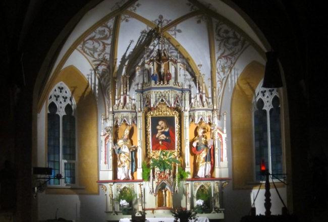 alta badia chiesa colfosco