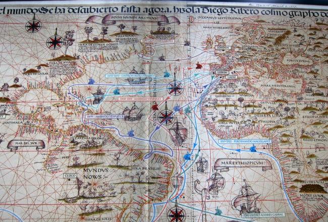 Mappe, Arte precolombiana a Venezia