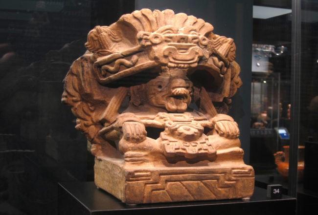 Un pezzo di arte precolombiana a Venezia