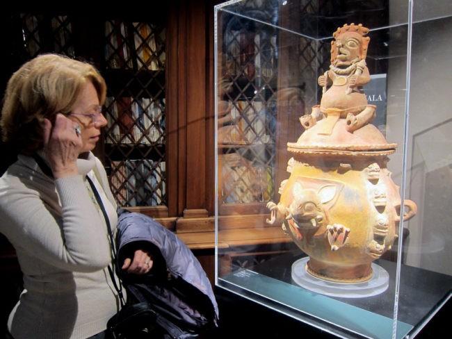 In visita alla mostra di arte precolombiana Venezia