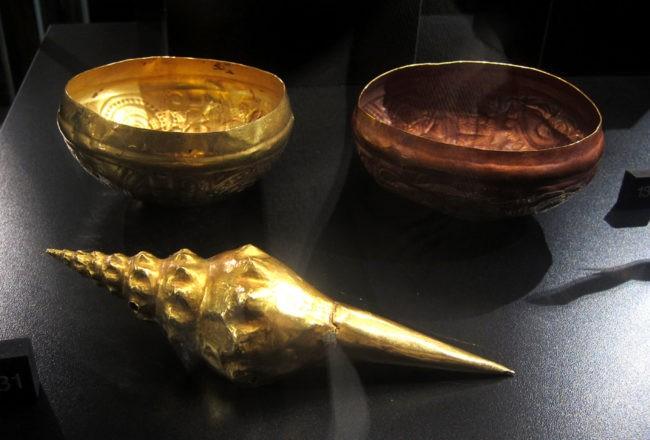 Pezzi di arte precolombiana a Venezia
