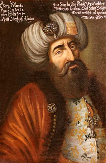 Rione Turchia a Moena ritratto di Mustafa Pasha