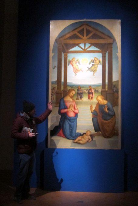 Opera del Perugino in Sant'Eustorgio a Milano