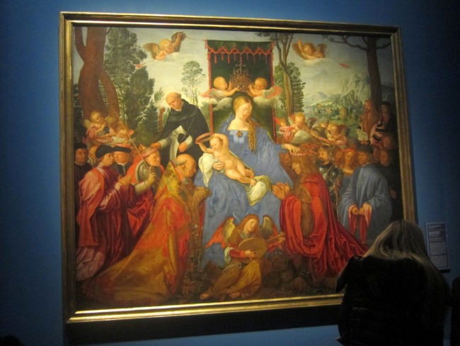 La Pala del Rosario dipinta da Dürer a Venezia