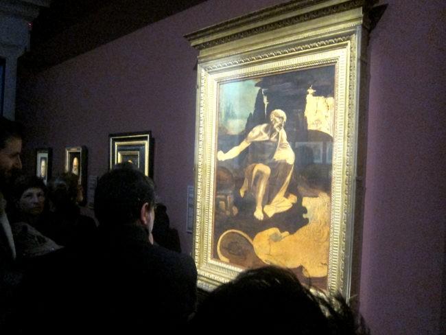 San Gerolamo di Leonardo da Vinci alla mostra su Dürer