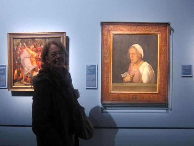 Ritratto di vecchia di A. Dürer