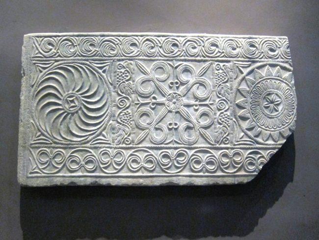 Lapide istoriata longobarda a Cividale
