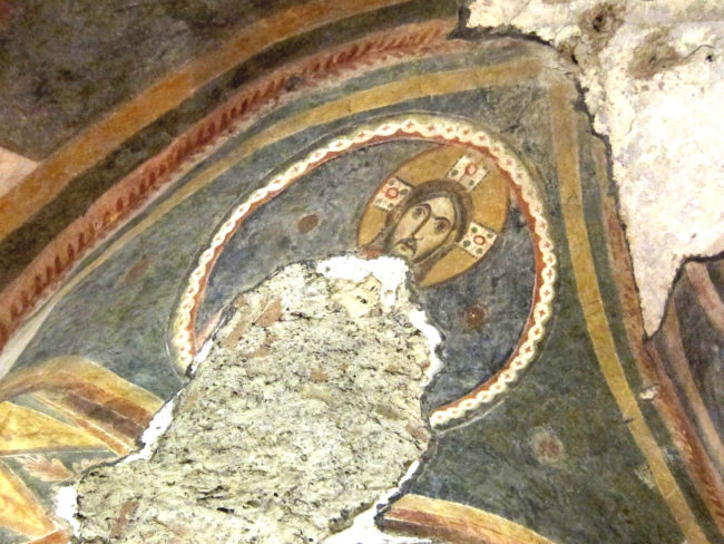 Cristo nella cripta S:Giovanni Domnarum a Pavia