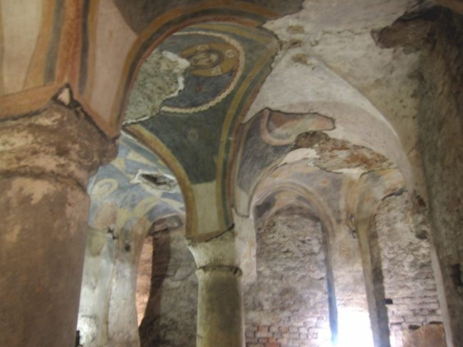 Cripta longobarda di S. Giovanni Domnarum a Pavia