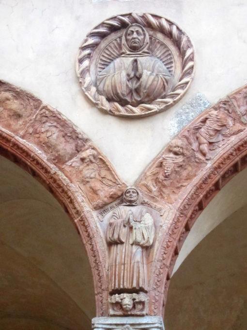 Chiostro di Santa Maria Teodote a Pavia