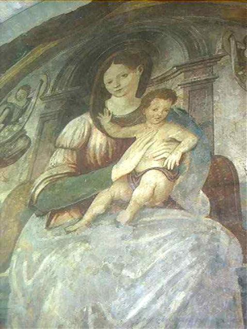Pala della Madonna di Vincenzo Pagani a Moresco