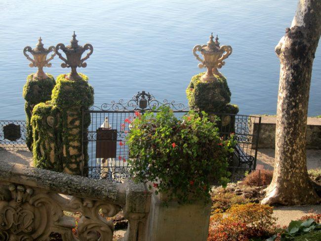 Attracco del porticciolo di Villa Balbianello