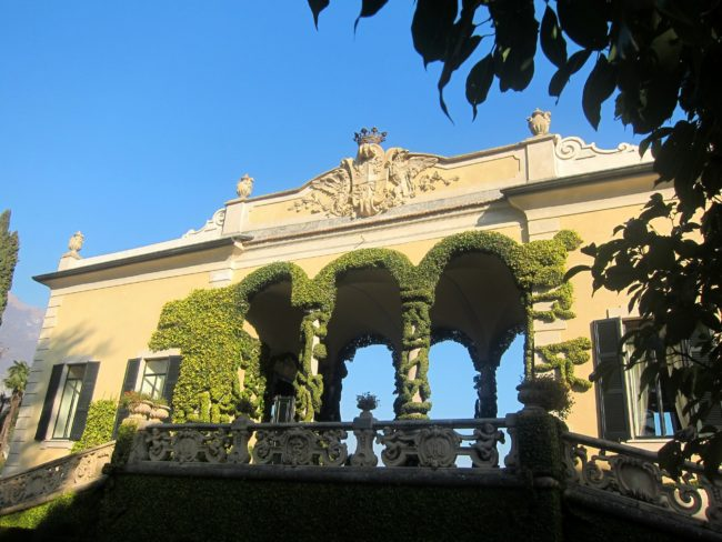 Loggia di Villa Balbianello