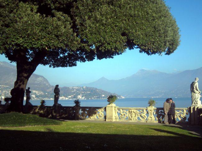 Terrazza sul lago di Villa Balbianello