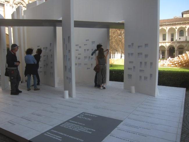 Fuorisalone del Mobile Milano casa biblioteca