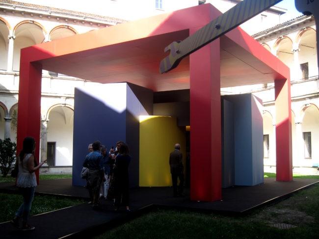 Fuorisalone del Mobile Milano casa colorata