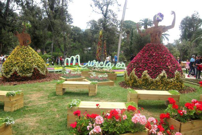 Euroflora2018 composizione di Murcia