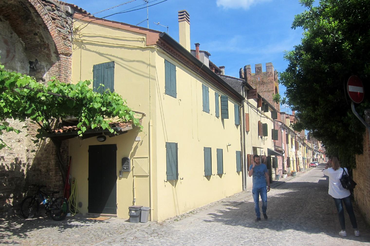 case di Montagnana