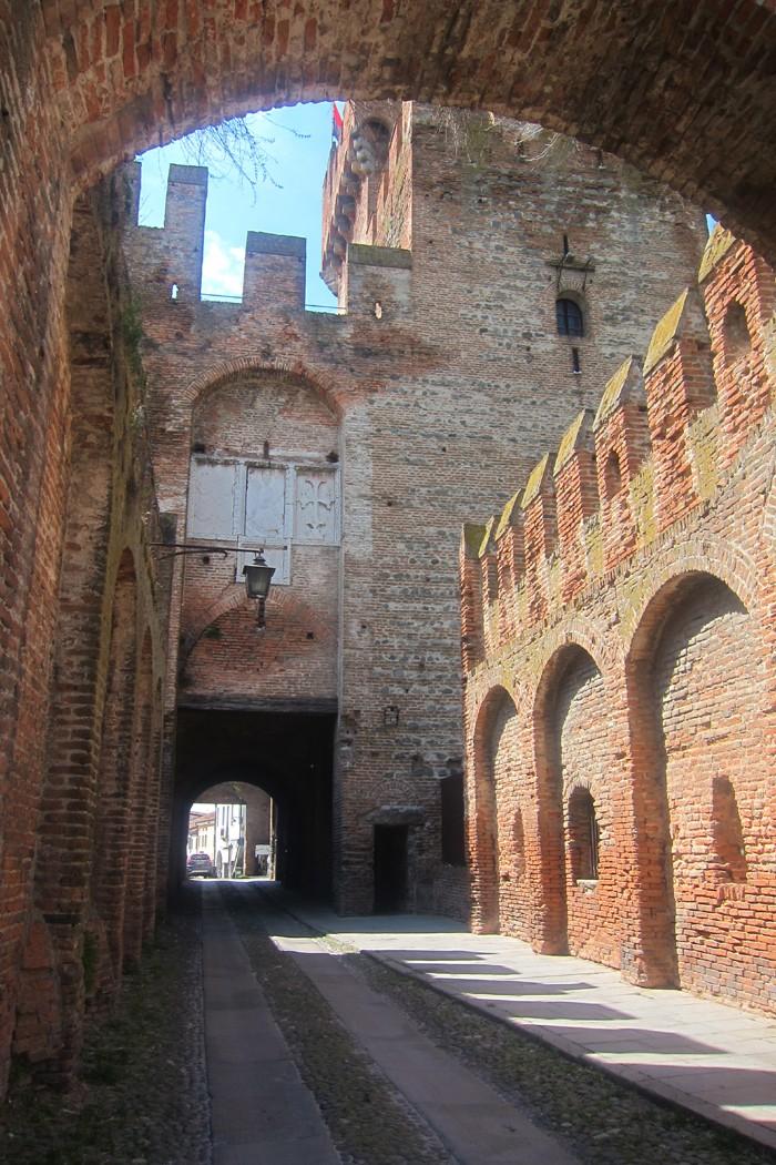 Porta nelle mura di Montagnana