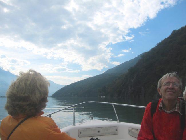 In barca da San Fedelino