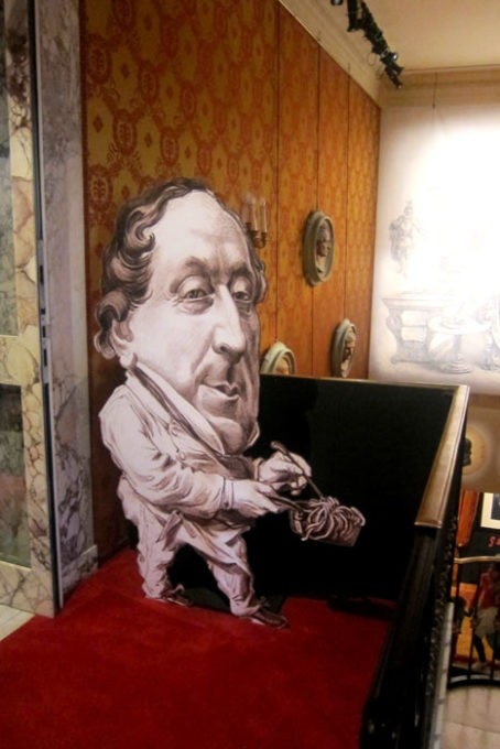 Caricatura di Rossini