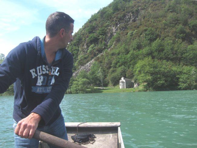In barca a San Fedelino
