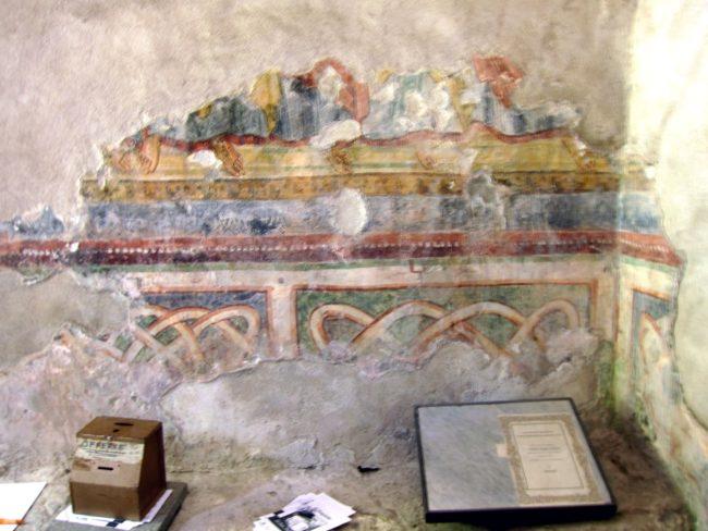 Decorazioni inerne a San Fedelino