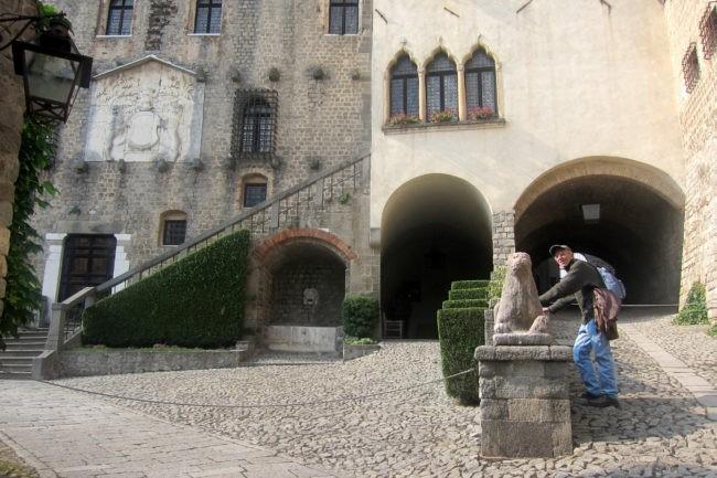 Esterno del Castello Cini di Monselice