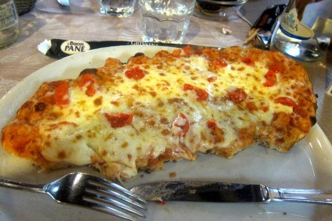 Pinsa Romana, antenata della pizza