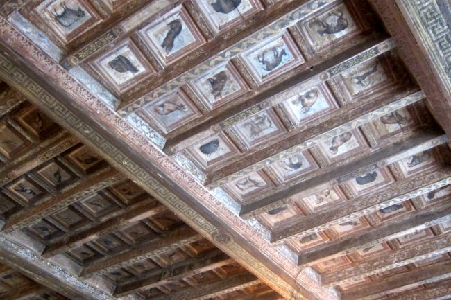 Soffitto Castello Cini Monselice