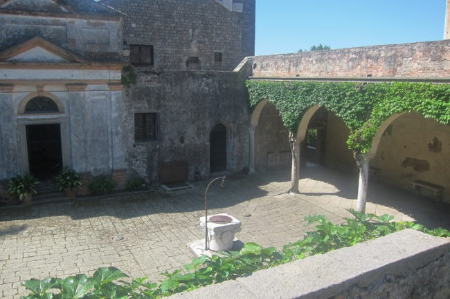 Cortile Castello Cini Monselice