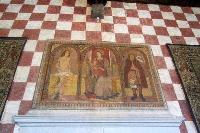 Sala del Castello Cini di Monselice