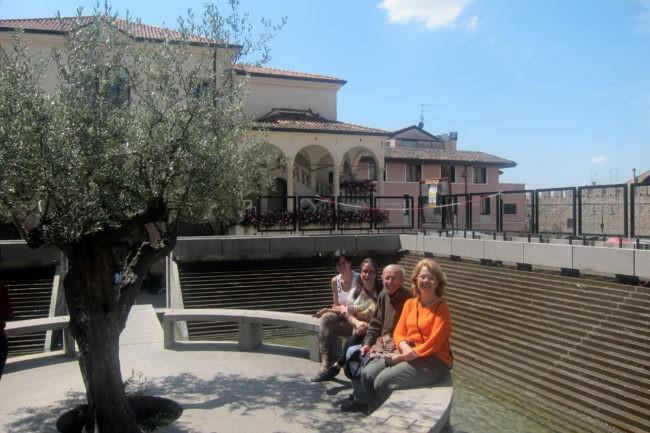 Fontana di Mario Botta a Monselice