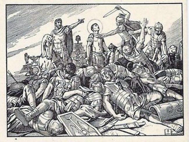 San Fedelino e la Legione Tebe
