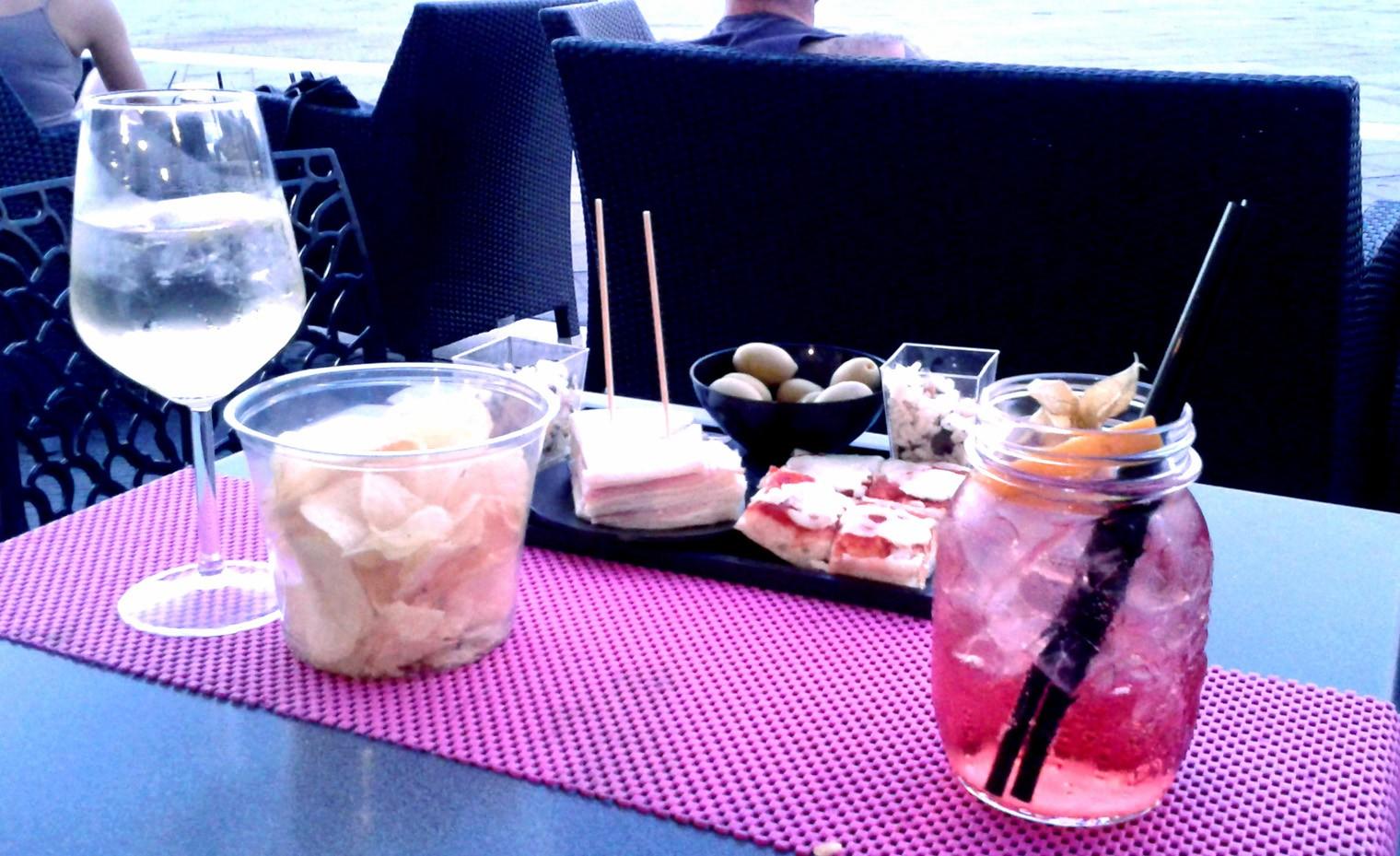 aperitivo con spritz