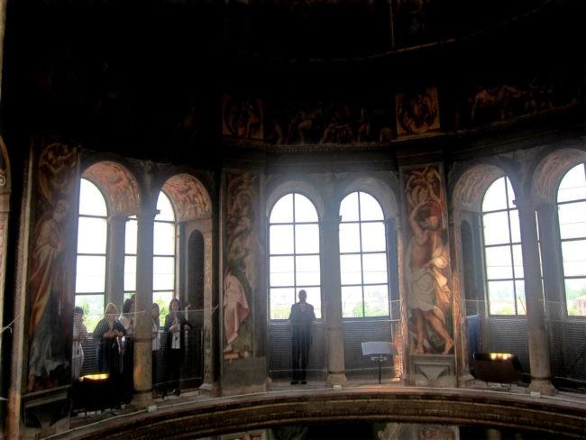 balconata cupola del Pordenone