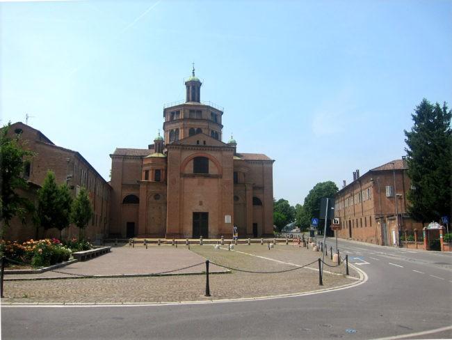 Santa Maria di Campagna cupola Pordenone