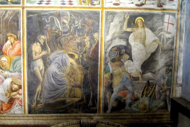 Gaudenzio Ferrari parete Madonna delle Grazie Varallo