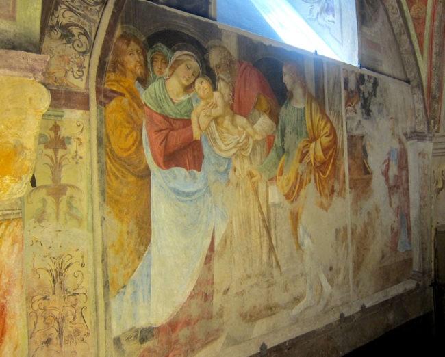 Gaudenzio Ferrari cappella Madonna delle Grazie