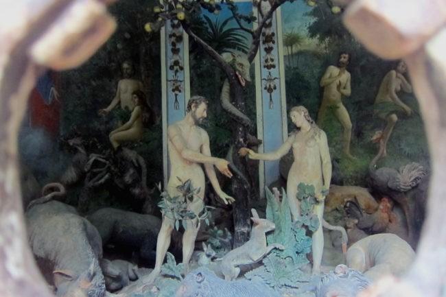 Adamo ed Eva al Sacro Monte di Varallo