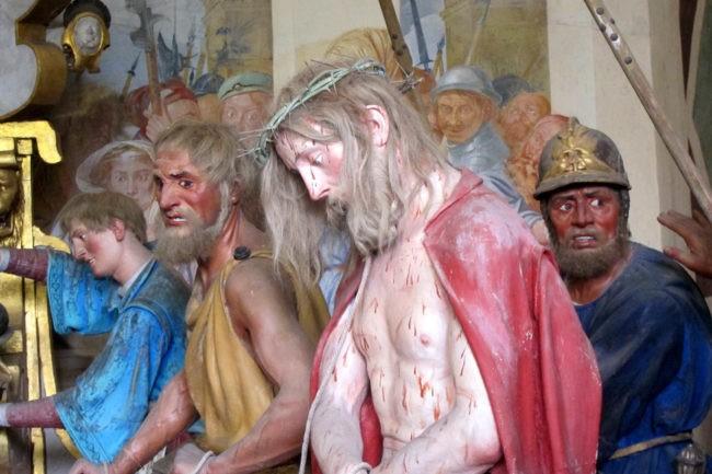 Gesù condannato Sacro Monte di Varallo