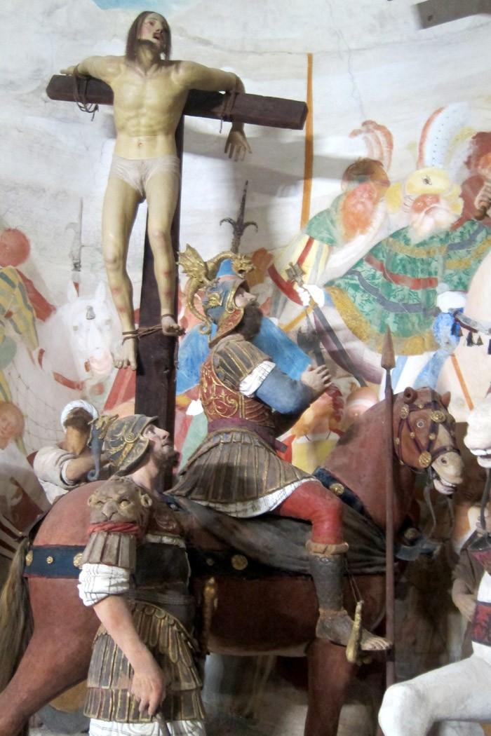 crocefissione Sacro Monte Varallo