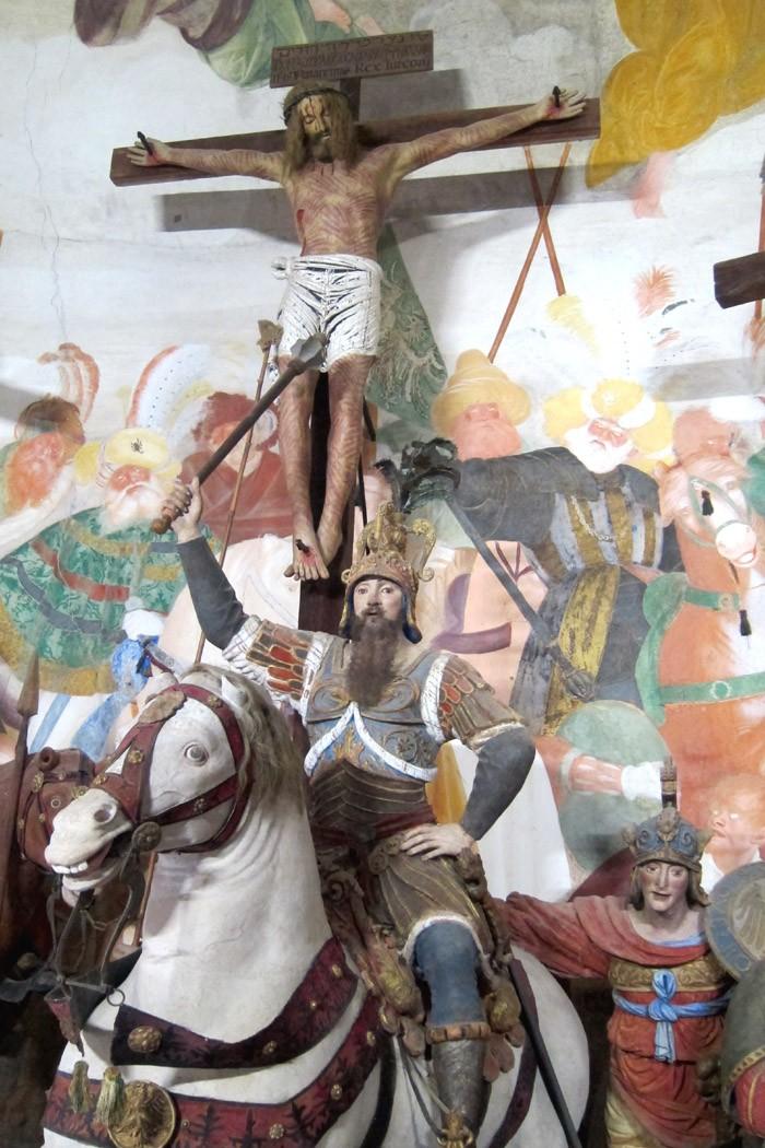 Cappella Crocefissione Sacro Monte Varallo