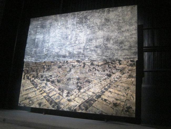 dipinto sette palazzi celesti anselm kiefer hangar bicocca