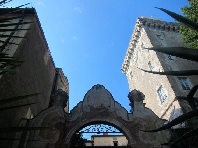La Cervara ingresso
