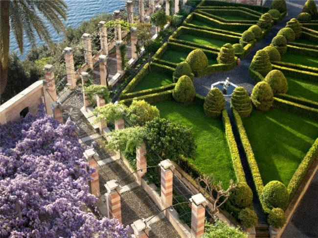 la cervara giardino e glicine