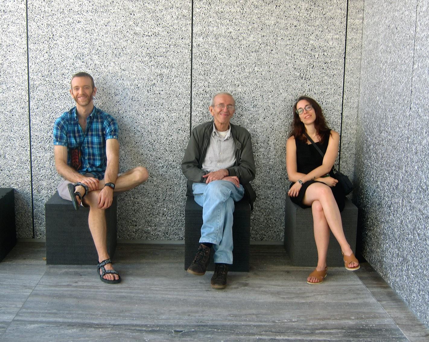 in visita alla Fondazione Prada