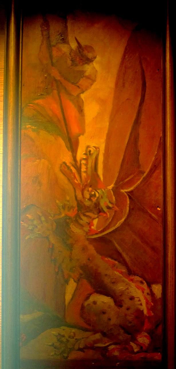 Alfred Roller il Gran Bracun sconfigge il drago