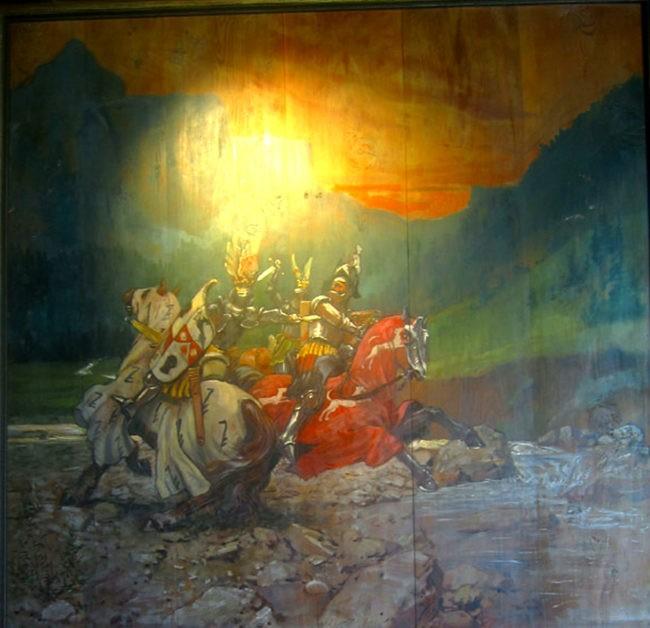 Alfred Roller all'hotel Cappella di Colfosco