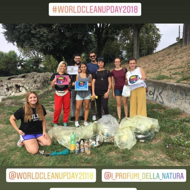 world clean up day milano